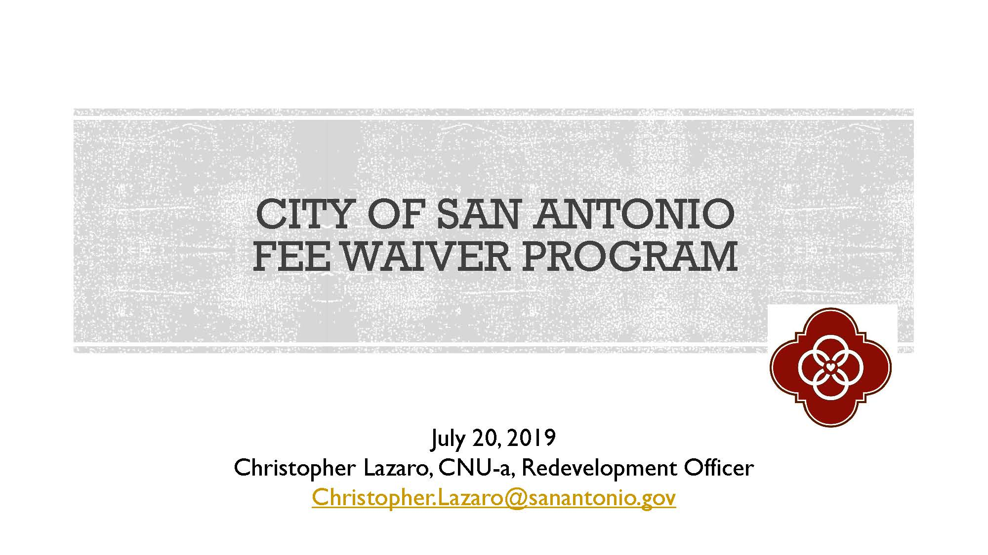 07-20-2019 #2 Take Advantage of City Rehab Programs