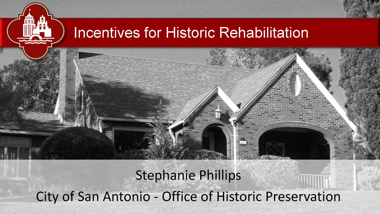 07-20-2019 #3 Take Advantage of City Rehab Programs